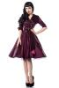 Rockabilly-Kleid Fifties lila