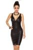 Damen Party Club Bandage-Shape-Kleid schwarz