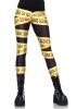Leg Avenue Damen Leggings Crime Scene