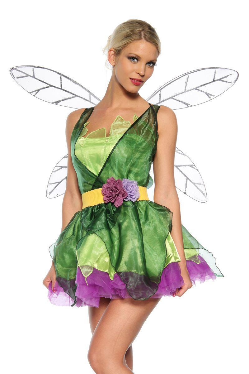 Karneval Damen Kostum Fee Faschingskram