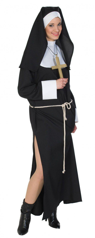 Rubies Karneval Damen Kostum Nonne Faschingskram