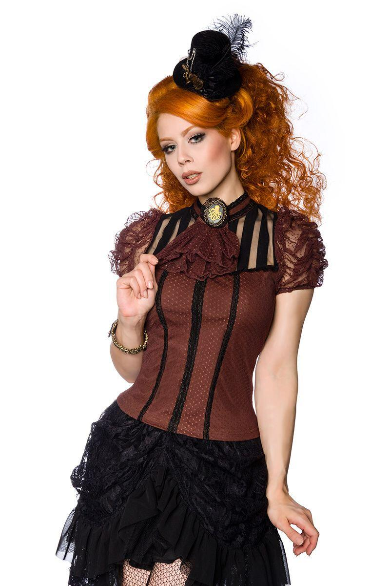 Damen Steampunk Shirt