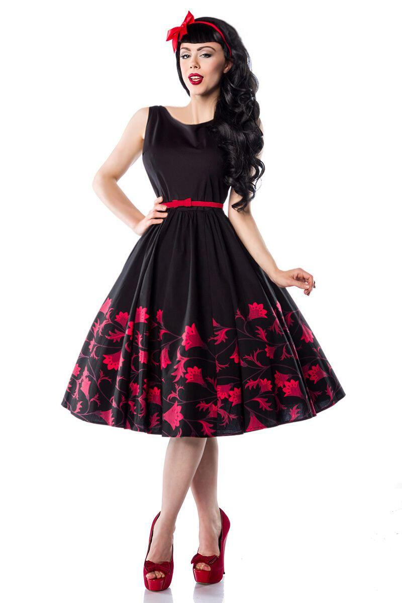 Damen Rockabilly-Kleid Abiballkleid Senya