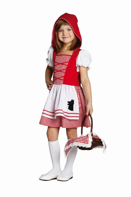 Karneval Madchen Kostum Rotkappchen Ruby