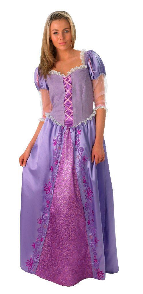 Disney Prinzessin Karneval Damen Kostum Rapunzel Faschingskram