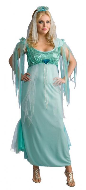 Full Cut Karneval Damen Kostum Meerjungfrau Faschingskram