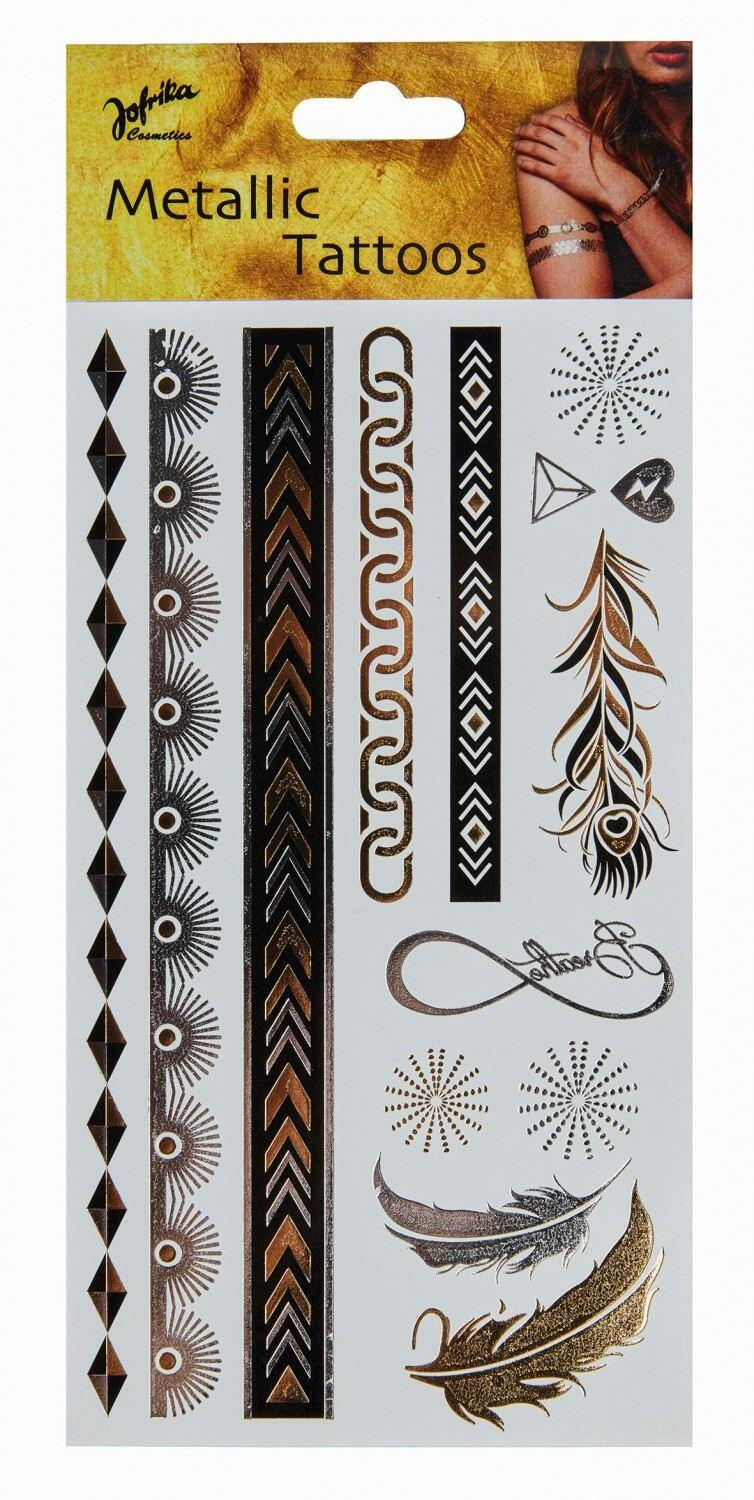 Karneval Metallic Tattoos Eternity