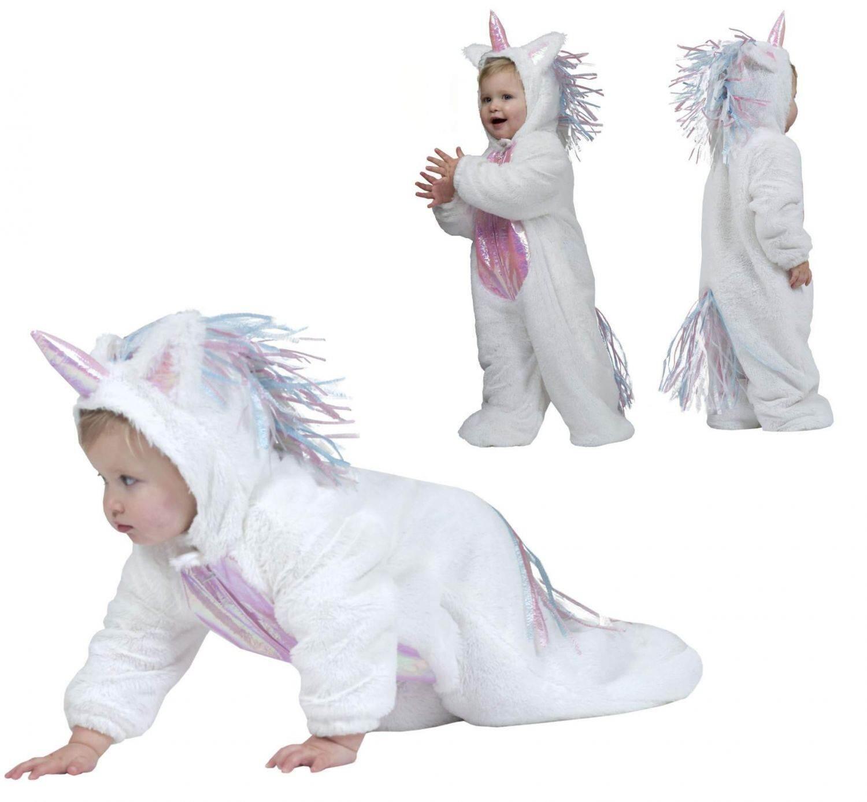 Karneval Baby Kinder Kostum Einhorn Faschingskram