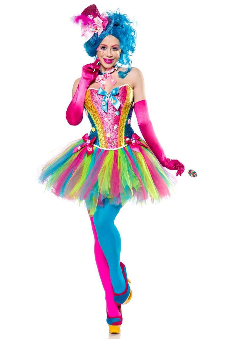 Karneval Damen Kostüm Candy Girl