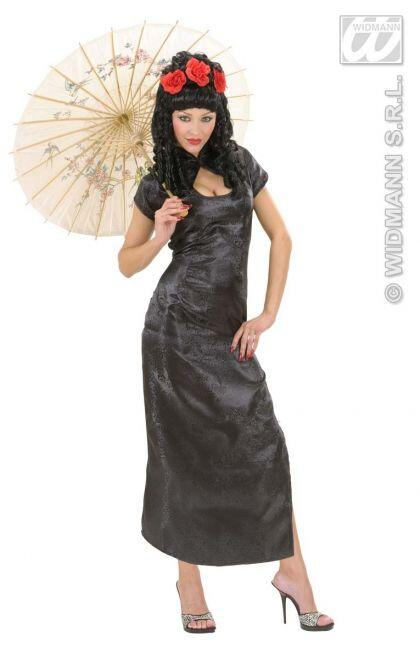 Karneval Damen Kostüm Geisha BLACK CHINA GIRL