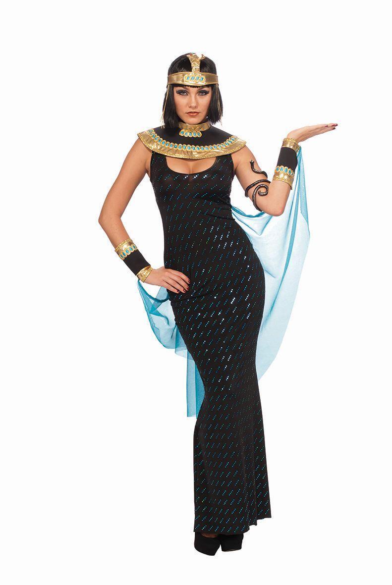 Karneval Damen Kostum Gottin Cleopatra Faschingskram