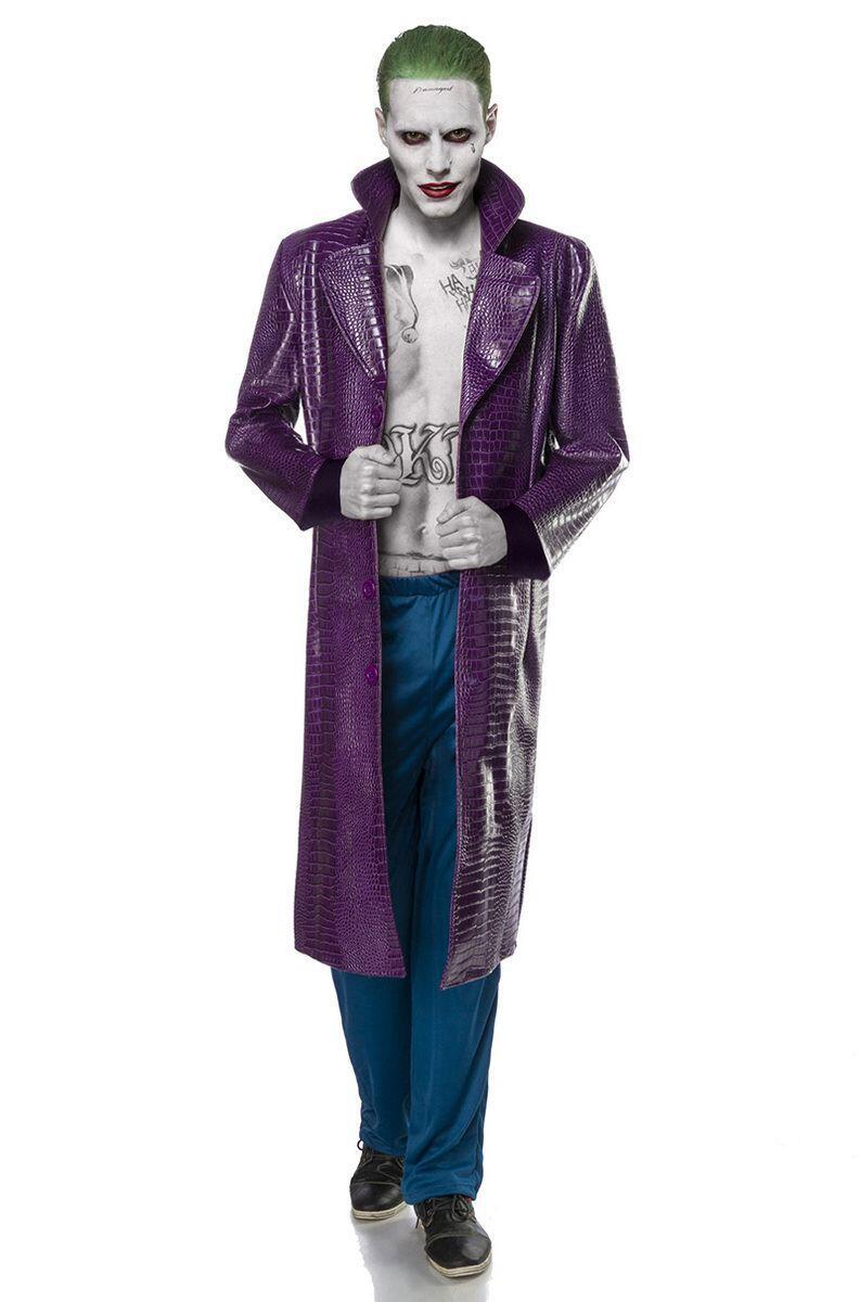 Karneval Halloween Herren Kostum Suicide Joker Faschingskram