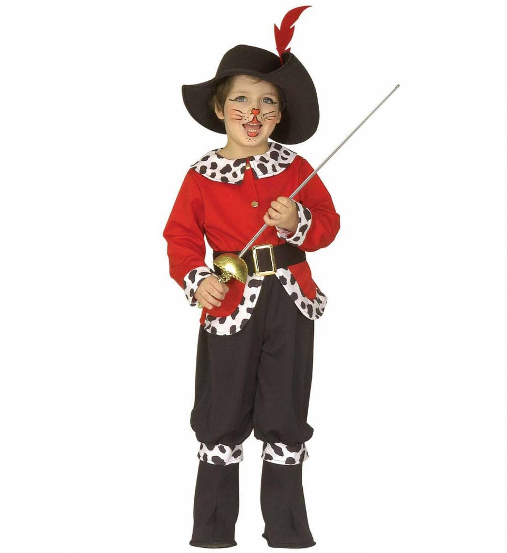 Karneval Jungen Kostum Marchen Kater Faschingskram