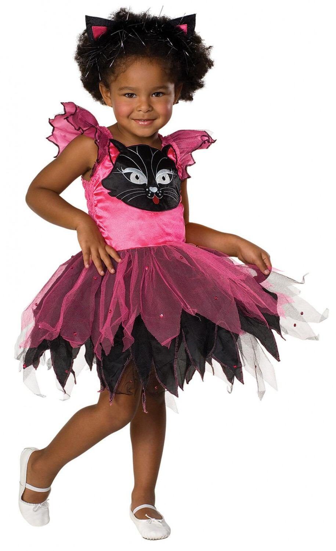 Karneval Madchen Kostum Katze Kitty Cat Faschingskram