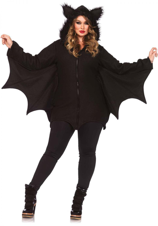 Leg Avenue Halloween Damen Kostum Fledermaus Cozy Bat Xxl