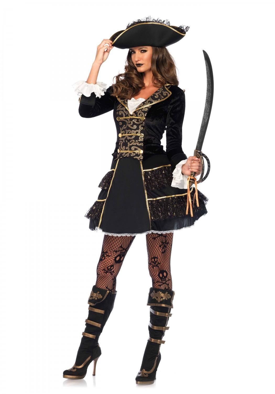 leg avenue karneval damen kost m piraten kapit n
