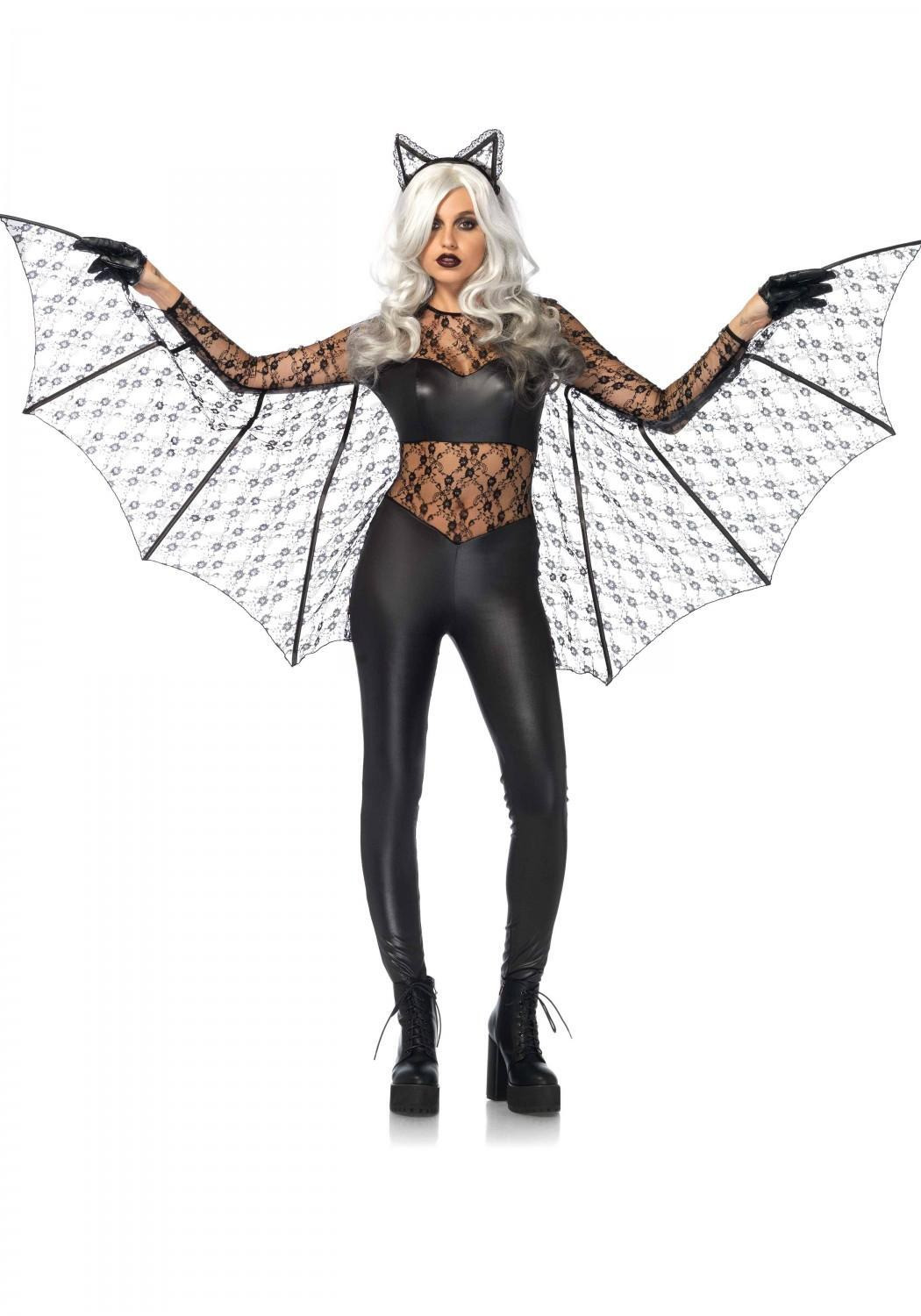 Leg Avenue Karneval Halloween Damen Kostüm Fledermaus Magic Bat
