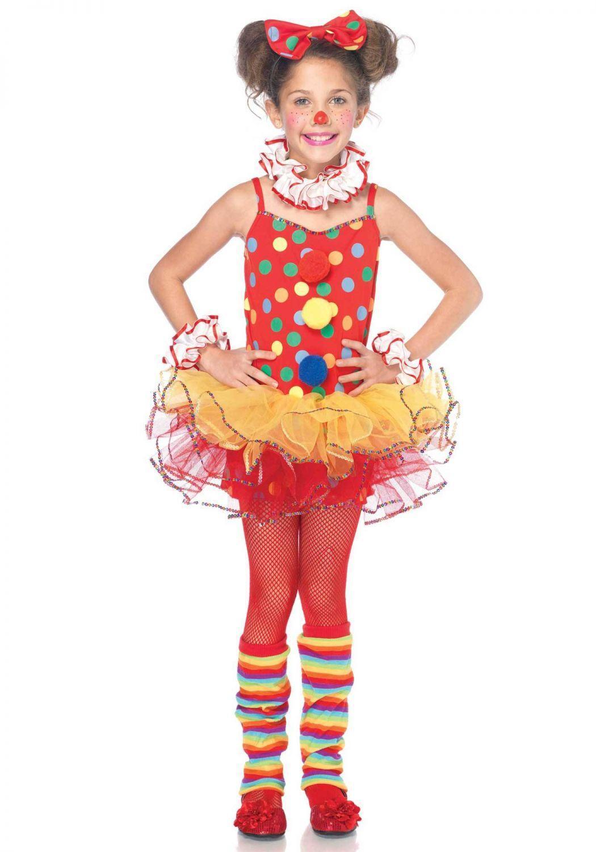 Leg Avenue Karneval Madchen Kostum Zirkus Clown
