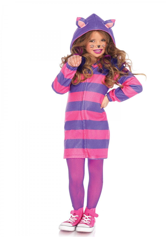 Leg Avenue Karneval Madchen Kostum Cheshire Katze