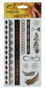 Jofrika Karneval Metallic Tattoos Eternity
