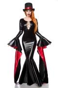 Karneval Halloween Damen Kostüm Zauberin Magic Mistress