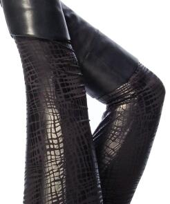 Damen Leggings Reptil