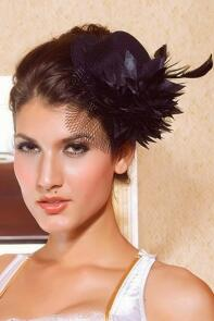 Damen Mini Hut Fascinator