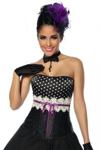 Damen Corsage ROCKABILLY