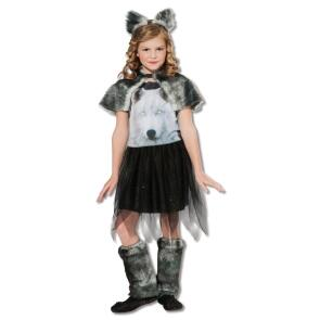 Karneval Halloween Madchen Kostum Twilight Wolf