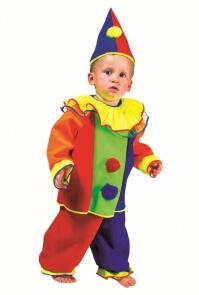 Karneval Baby Kinder Kostüm Clown Timothy
