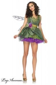 Leg Avenue Karneval Damen Kostüm Fee WOODLAND FAIRY