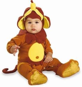 Karneval Baby Kostum Affe Monkey See Faschingskram