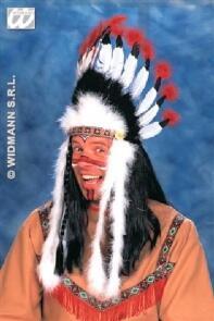 Karneval Indianer Kopfschmuck Faschingskram