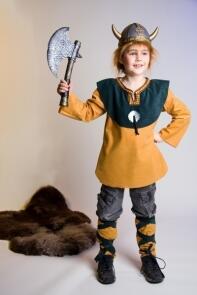 Karneval Jungen Kostum Wikinger Ole Faschingskram