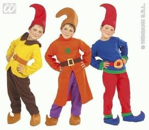 Karneval Kinder Kostum Zwerg Faschingskram