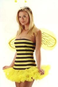 Leg Avenue Damen Kostum Biene Honigbiene Faschingskram