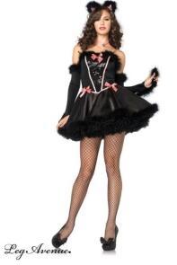 leg avenue karneval damen kost m katze catnip cutie. Black Bedroom Furniture Sets. Home Design Ideas