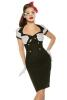 Damen Kleid Abiballkleid Pin- Up Vintage- Kleid