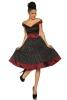 Damen Kleid Abiball Rockabilly