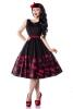 Damen Rockabilly- Kleid Abiballkleid Senya