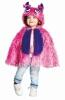 Karneval Kinder Kostüm Pink Monster Cape
