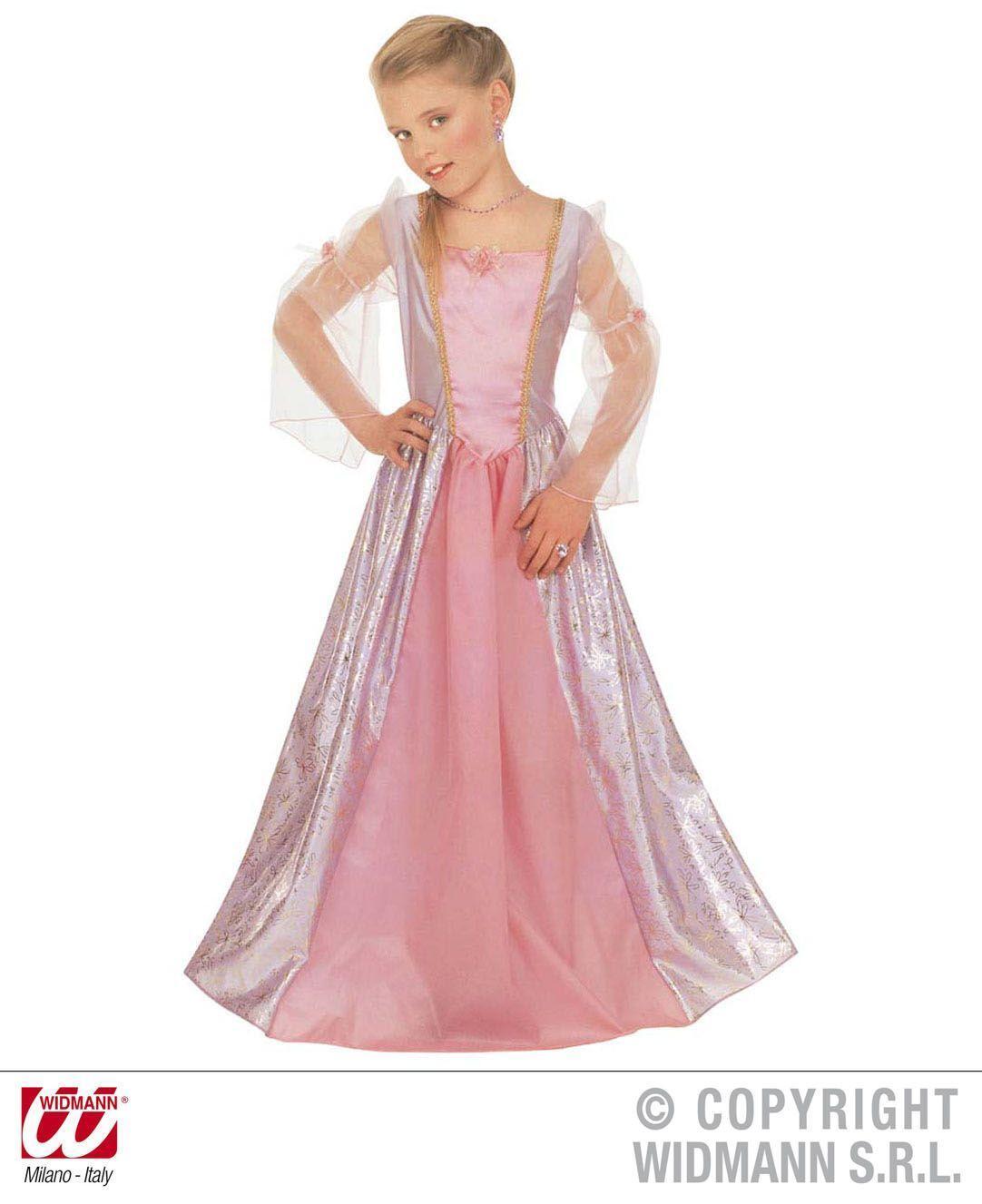 Karneval Mädchen Kostüm Prinzessin Silvia - Faschingskram