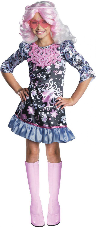 Monster High Mädchen Kostüm Viperine Gorgon - Faschingskram
