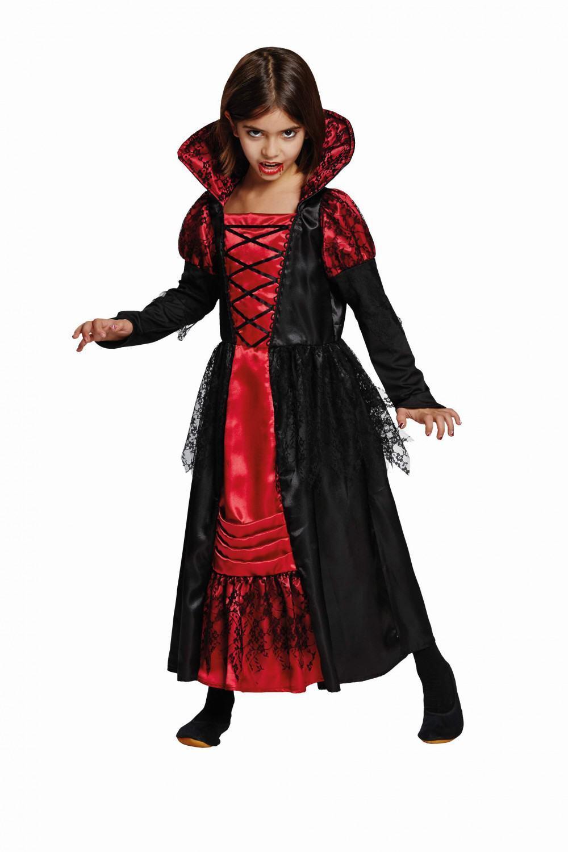 karneval halloween m dchen kost m vampir prinzessin. Black Bedroom Furniture Sets. Home Design Ideas