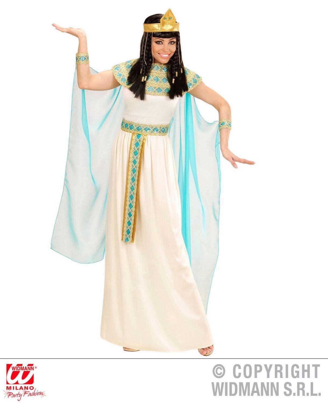 widmann karneval damen kost m cleopatra blau faschingskram. Black Bedroom Furniture Sets. Home Design Ideas