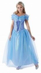 Disney Damen Kostüm Prinzessin Cinderella Live Action Movie