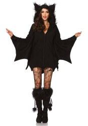 Leg Avenue Halloween Damen Kostüm Fledermaus Cozy Bat