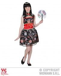 Karneval Mädchen Kostüm Geisha Chinesin