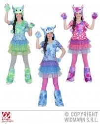 Karneval Mädchen Kostüm Space Monster Größe 158