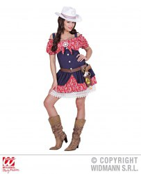 Karneval Damen Kostüm Cowgirl Marie